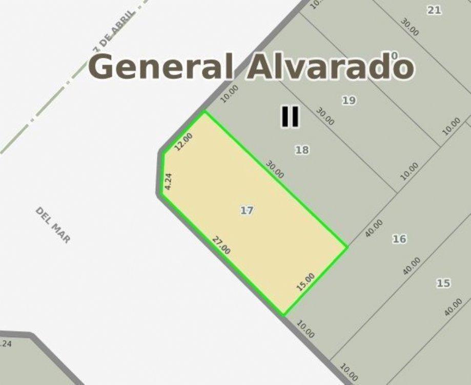 Lote o Terreno en Venta Parquemar de Miramar. Estado Bueno. Apto Crédito